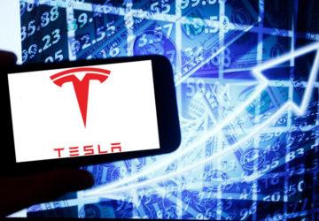 Tesla's Market Value of 2020