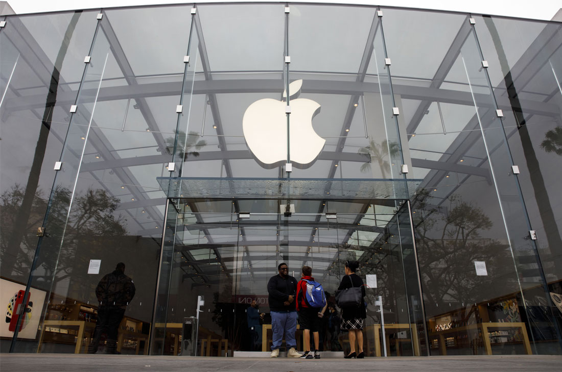 U.S. Tech Giant Apple and Virus Outbreak