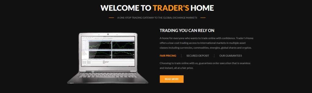 tradershome review, TradersHome Review