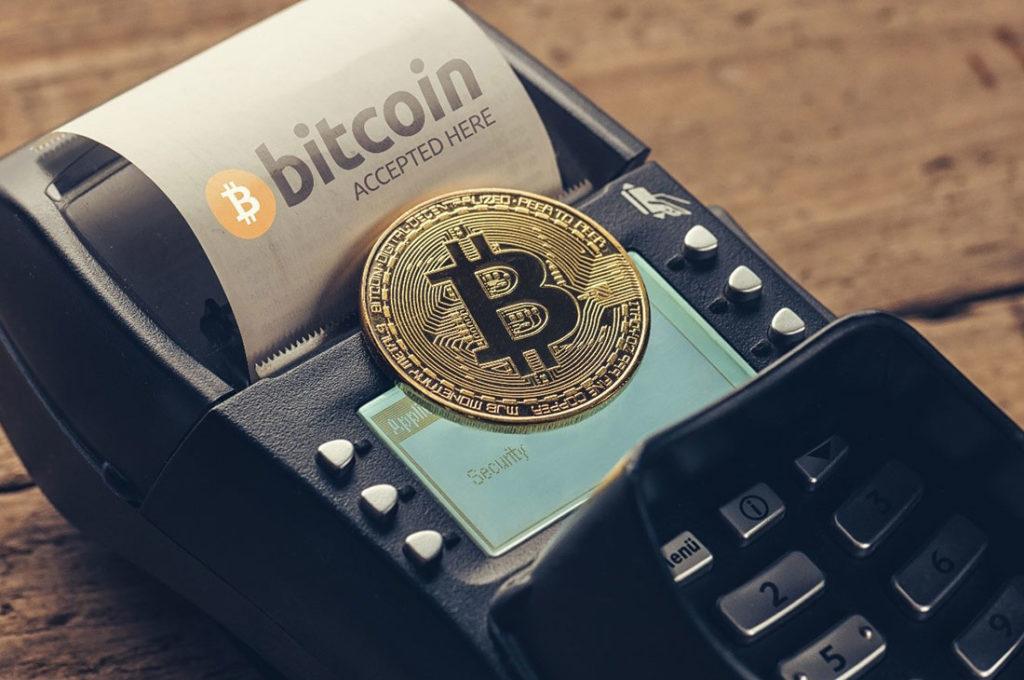 Aircraft bitcoin payment