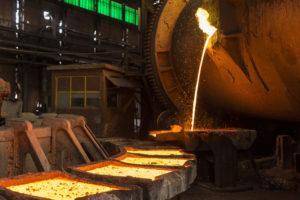 Copper price drops