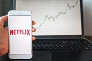 Netflix's share price slumped last week