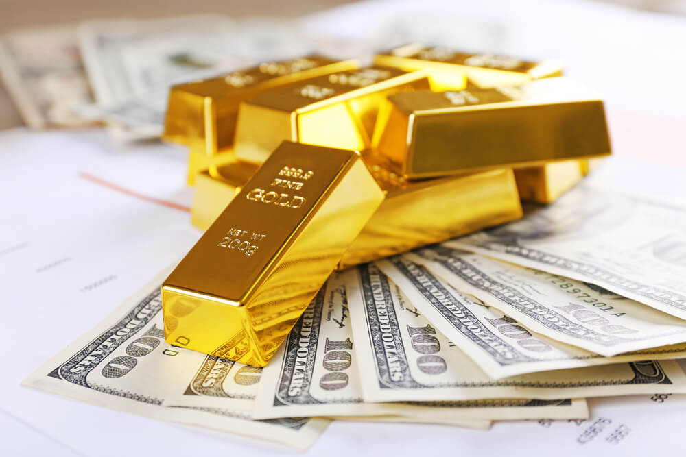 Gold price and dollar