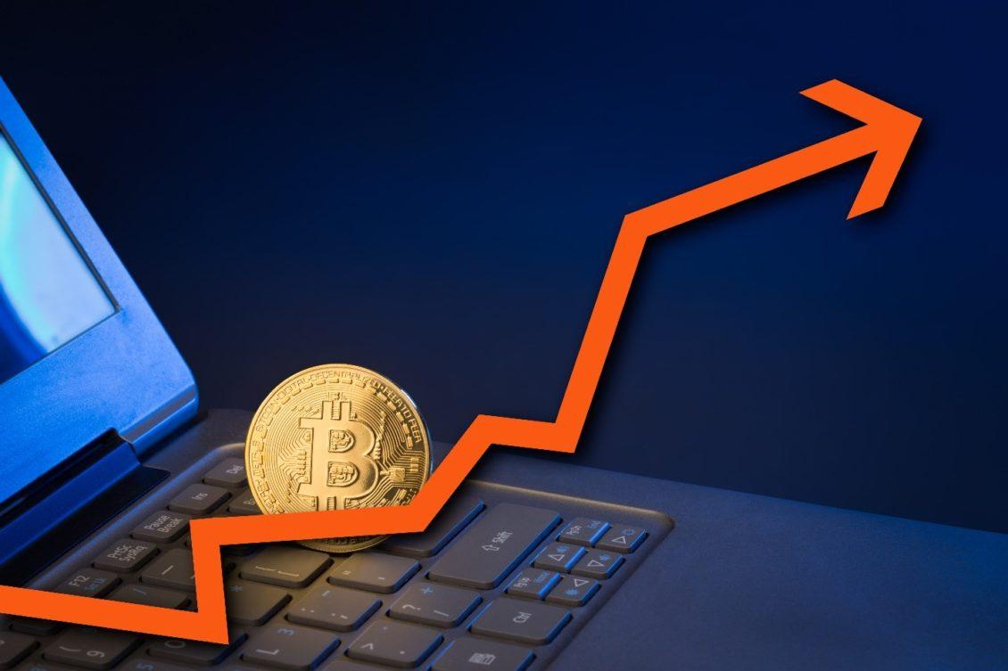 Bitcoin price increase