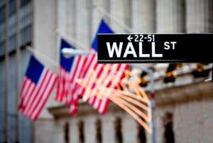 Wall Street sign.