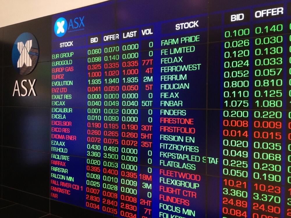 Australia stock