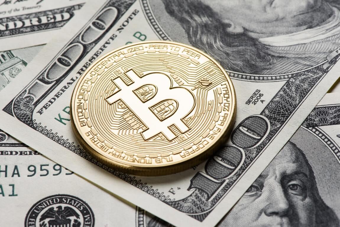 dollar and bitcoin