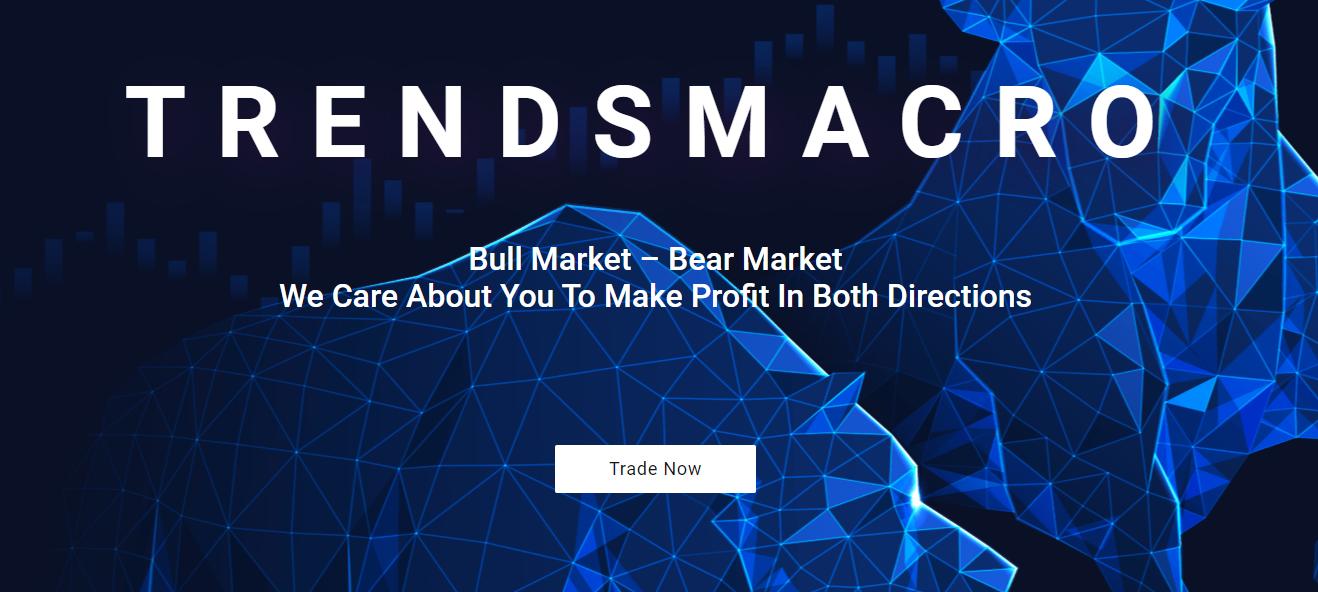 Trendsmacro homepage