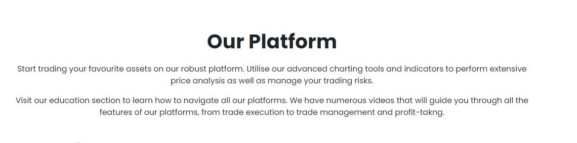 CFDAdvanced trading platform