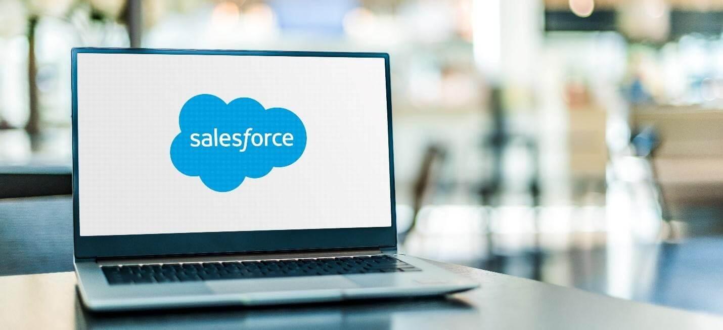Salesforce shares rose after its acquisition of Slack