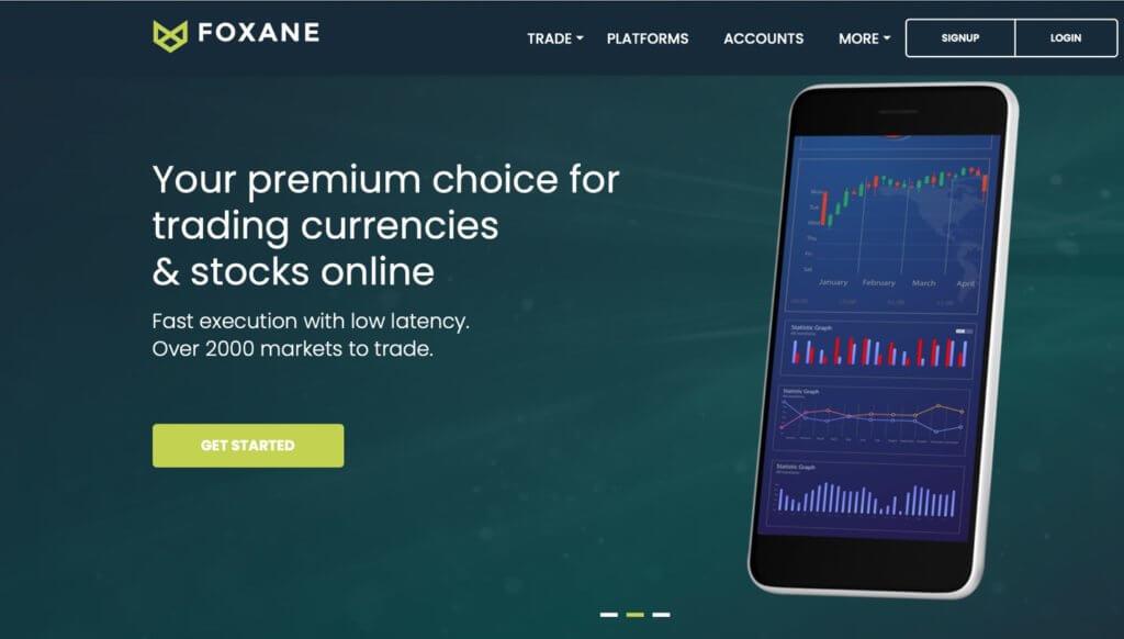 Foxane accounts - premium-choice