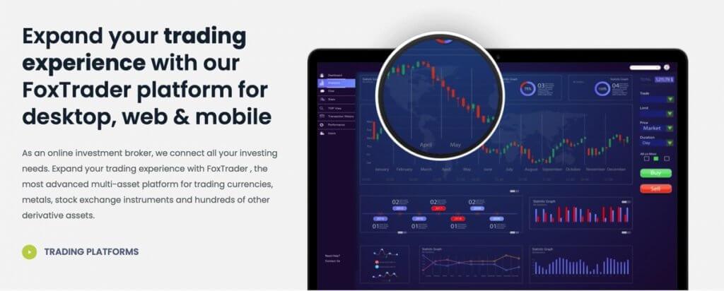 Foxane accounts - trading-platform