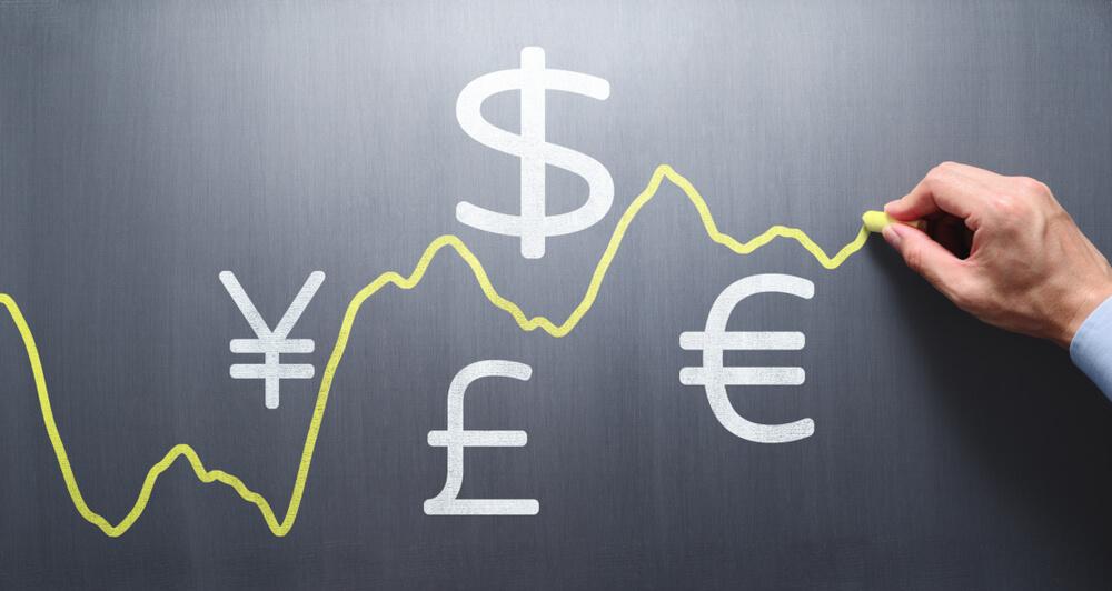 Dollar, yen, pound euro